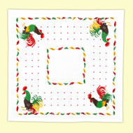 Retro Rooster Tablecloth