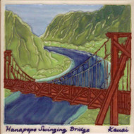 "Swinging Bridge 6"" Tile"