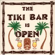 """Tiki Bar 6"""" Tile"""