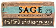 Sage Soap-5oz  WHEAT GERM OIL: INDIGENOUS TO SOUTH ASIA. THIS OIL IS NATURALLY RICH IN VITAMIN A, D, AND E AND ALSO CONTAINS VITAMIN B1, B2, B3, B6, F, ESSENTIAL FATTY ACIDS, PROTEIN, AND MINERALS. THESE PROPERTIES HELP TO REDUCE STRETCH MARKS, SCARS, AND RELIEVE SUN BURN. BECAUSE OF ITS ANTIOXIDANT PROPERTIES, IT ALSO HELPS FIGHT FREE RADICALS FROM THINGS SUCH AS AIR POLLUTION AFFECTING THE SKIN, WHILE REDUCING CELL AGING.  Ingredients:  Saponified Olive Oil, Coconut Oil, Palm Oil, and Soybean Oil. Wheat Germ Oil. Organic Ground Sage. Sage Essential Oil. Lavender Essential Oil. Rosemary Seed Extract Vitamin E.     Many native peoples use Sage as a medicine. Topically, Sage is found to be anti-fungal, antioxidant, and anti-inflammatory. It is also used for smudging in some Native American traditions, which is where the inspiration for this soap came from.