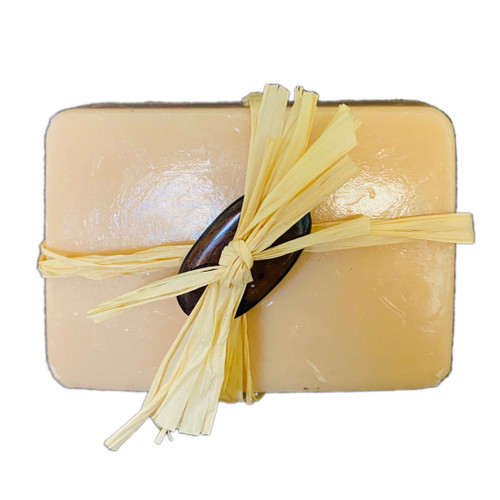 "SKU#231  Coco Chocolate Soap-3.8oz  ""MADE ON KAUAI""  Ingredients: Organic Coconut Oil, Glycerine & the scent of fine Chocolate."