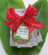 Set of 4 Gourmet Coffee Rubs One each of Aloha Spice pouch: Garden Island, Kauai Aloha, Pele's Smokey, Uncle's Lu'au Great for seasoning anything and everything! Delicious on vegetarian dishes as well as meats Makes a great gift or addition to any kitchen or pantry Taste the Aloha in this set of four Aloha Spice Coffee Rubs. A great addition to any kitchen, these special salts are great for every thing from seasoning your favorite grilled or bbq dishes. Full sized packets of each of our 4 coffee rubs. The perfect gift for the foodies in your life.