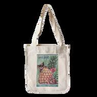 Pineapple Kittens - Sweet Inside - Kaua'i Hawaii Canvas Tote - Front