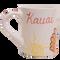 Whimsical Chickens - 16oz Coffee Mug - Back