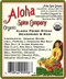 Aloha Spice Company - Organic Aloha Prime Steak Seasoning & Rub - Ingredients