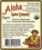 Tutu's Organic All Purpose Seasoning - Ingredients