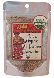 Tutu's Organic All Purpose Seasoning 2.11 oz Stand Up Pouch