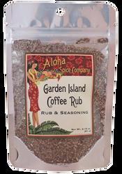 Garden Island Coffee Rub & Seasoning 2.15 oz. Stand Up Pouch