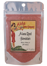 `Alaea Red Hawaiian Sea Salt (Fine) 3.70 oz. Stand Up Pouch