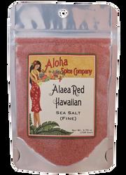 `Alaea Red Hawaiian Sea Salt (Fine) - 3.70 oz. Stand Up Pouch
