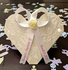 Baptism Personalized Ribbon