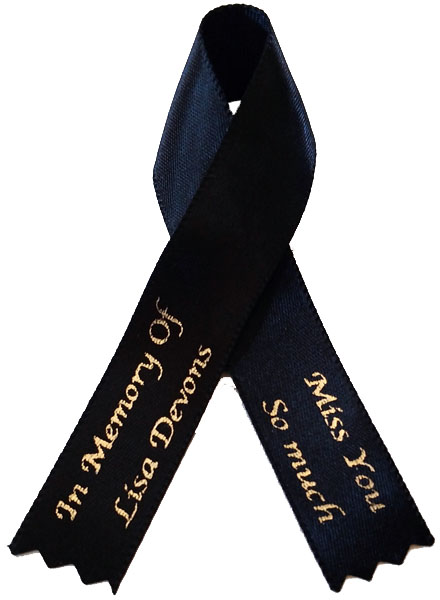 Awareness Ribbon | Memorial Ribbon
