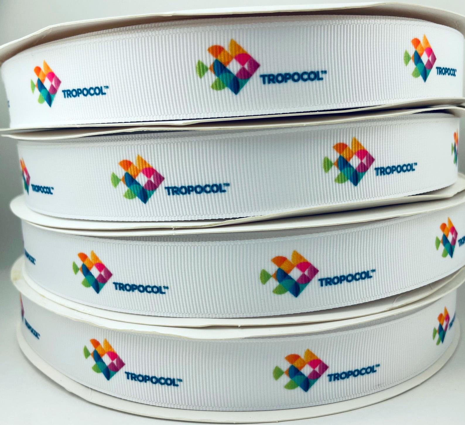 Personalized Full Color Grosgrain Ribbon
