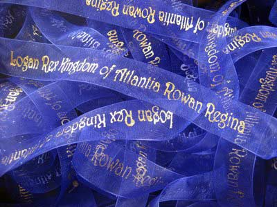 7/8 Chiffon Personalized Ribbon