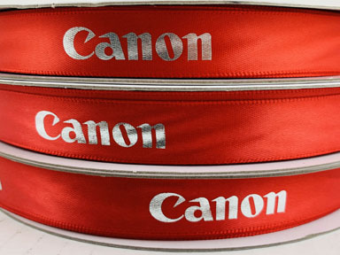 Red Personalized Ribbon