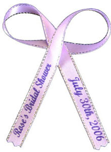 Satin Favor Ribbon - 12