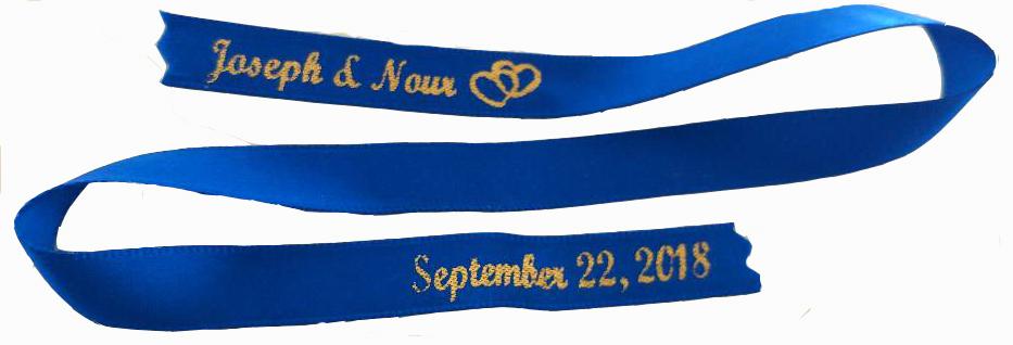 Awareness Ribbon Bow Funeral Ribbon