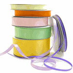 "3/8"" Unprinted Satin Ribbon"
