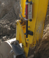 Topcon LS-B100 Magnetic Receiver Mount
