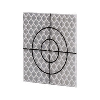 Inline 50 x 50mm Silver Retro Reflective Targets - Pack of 20