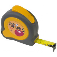 Fisco Tuf Lok 8m Steel Tape Measure