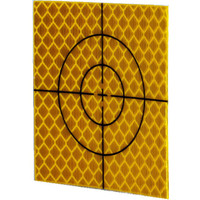 Inline 50 x 50mm Orange Retro Reflective Targets - Pack of 20