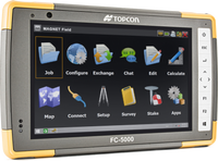 Topcon FC-5000 Field Controller - With Sim Modem, Extended BT Range & RS232