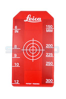 Leica Small 100-300mm Pipe Laser Target Insert