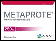METAPROT®, (aka Metaprote, Bemitil) 20pills/pack, 250mg/pill