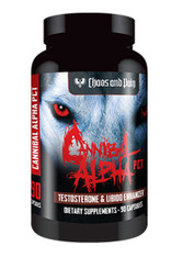 CANNIBAL ALPHA PCT® Testosterone + Libido Enhancer, 90caps/pack