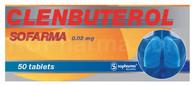 CLENBUTEROL® (aka Dilaterol, Spiropent, Ventipulmin), 50tab/pack, 0.02mg/tab