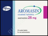 AROMASIN® (aka Exemestane), 25mg, 30 tab/pack