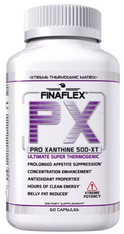 PRO XANTHINE FINAFLEX 500-XT® (advanced fat loss, energy & concentration), 60 caps
