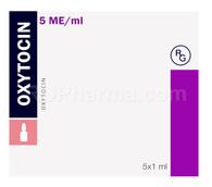 OXYTOCIN (aka Oxt, Love Hormone), 5IU/ml, 1ml/ampul, 5 ampuls/pack