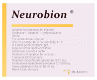NEUROBION® (Vitamins B1, B6, B12), 3ml/ampuls, 3 ampuls/pack OR 20 pills/pack