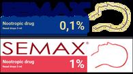 SEMAX®, 1%, 0,1%,  3 ml