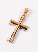 YELLOW GOLD PENDANT, 18K, Weight: 2.7g, YGPEND0222