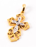 YELLOW GOLD PENDANT, 18K, Weight: 7g, YGPEND0225