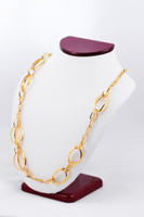 YELLOW GOLD NECKLACE, YG21KNECKLACE027, Size:Large, Weight:0g