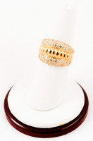 Yellow Gold Ring 21K, YGRING0002, Weight: 7.2g