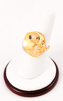 Yellow Gold Ring 21K, YGRING0006, Weight: 0g