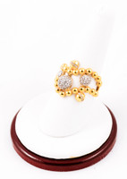 Yellow Gold Ring 21K, YGRING0040, Weight: 6.7g