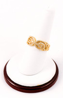 Yellow Gold Ring 21K, YGRING0041, Weight: 0g