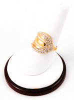 Yellow Gold Ring 21K, YGRING0042, Weight: 7.4g