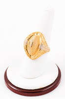 Yellow Gold Ring 21K, YGRING0052, Weight: 7.2g