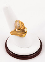 Yellow Gold Ring 21K, YGRING0056, Weight: 4.5g