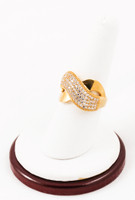 Yellow Gold Ring 21K, YGRING0061, Weight: 0g