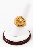 Yellow Gold Ring 21K, YGRING0063, Weight: 7.7g