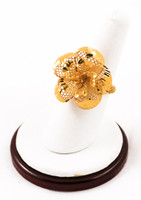 Yellow Gold Ring 21K, YGRING0068, Weight: 5.9g