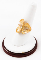 Yellow Gold Ring 21K, YGRING0070, Weight: 0g